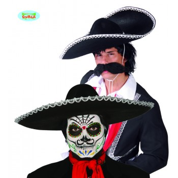 Sombrero Mejicano Fieltro N/P