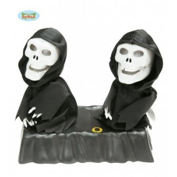 Pareja Esqueletos Bailarines