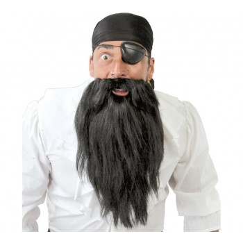 Pañuelo Pirata C/Barba+Parche