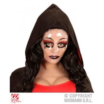Mascara Dama Gotic/Vampir Roja