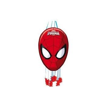 PiÑata Perfil Spiderman Face