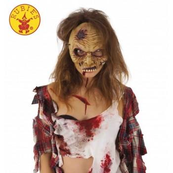 Mascara Zombie Media Cara