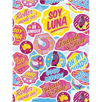 Mantel Plástico Soy Luna