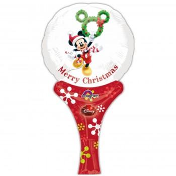 Globo Varita Mickey Merry Chri