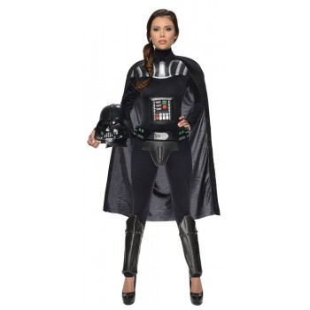Disf.Darth Vader Girl Ad. T-M