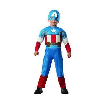 Disf.Inf.Capitan America T-T