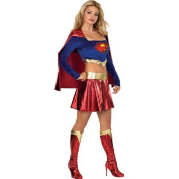 Disf. Supergirl T.S-Xs