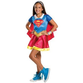 Disf.Inf.Supergirl Deluxe T-M