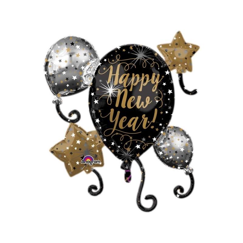 Globo H.New Year Globos&Estrel