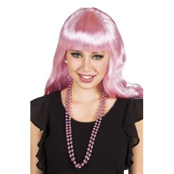 P/2 Collar Perlas Rosa