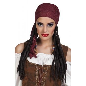 Peluca Chica Pirata C/Bandana