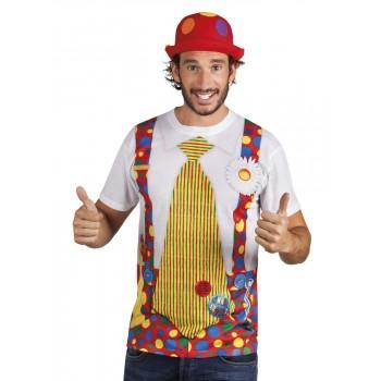 Camiseta Realista Payaso T-L