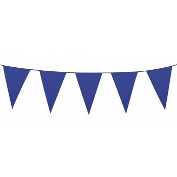 Banderin Triang.Azul 10M