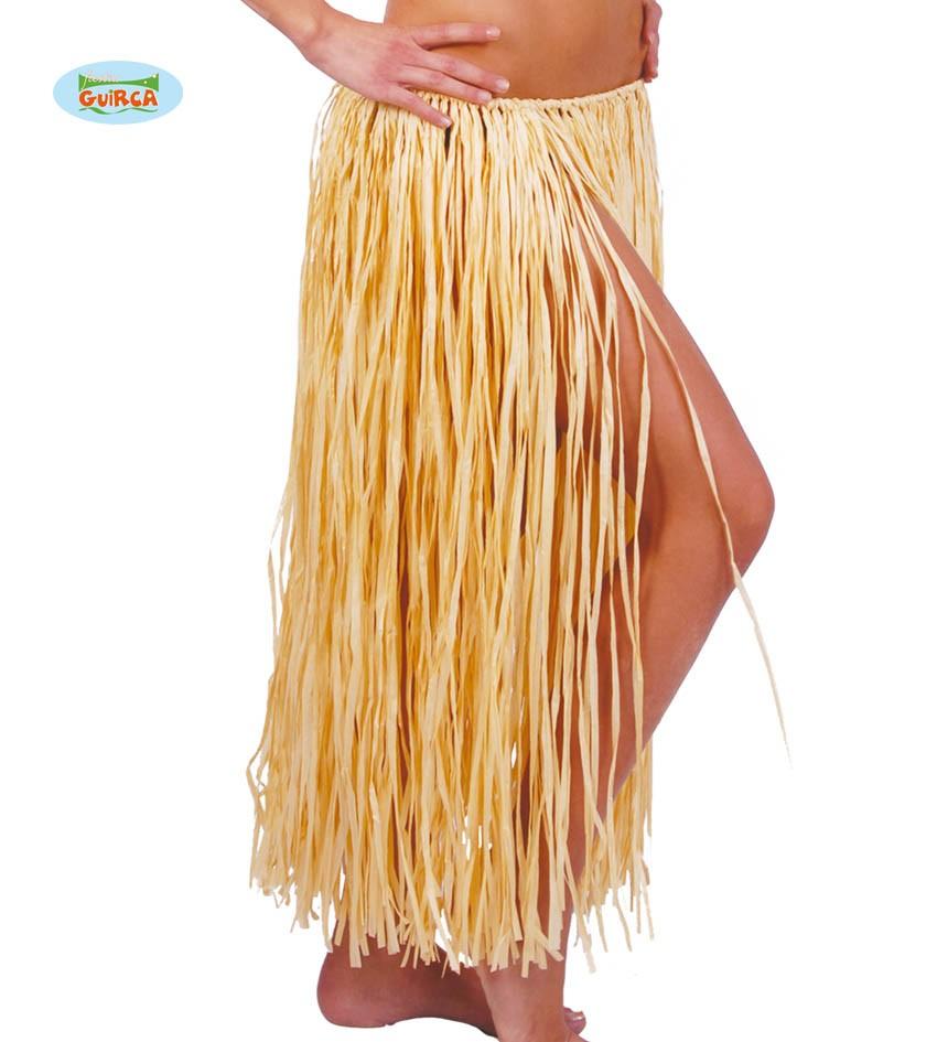 eb0f7b437 Falda De Rafia Hawaiana   Wig Elegance