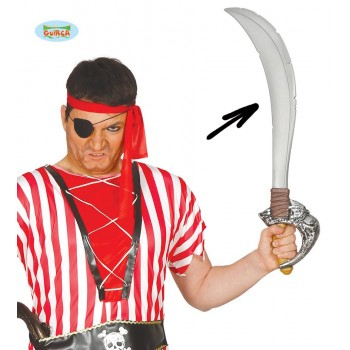 Espada Pirata 7 Mares 72Cm