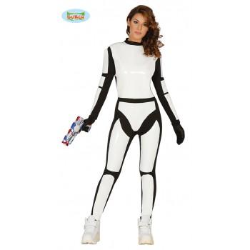 Disf.Chica Soldado Espacial