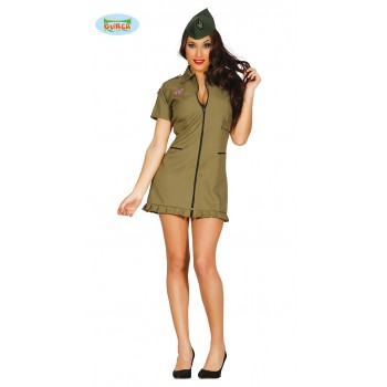 Disf.Chica Militar T-M
