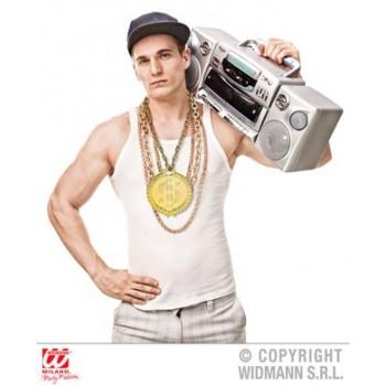 Collar Hip Hop 58Cm