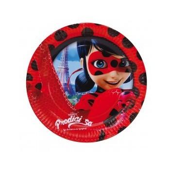 P/8 Plato 23Cm Ladybug