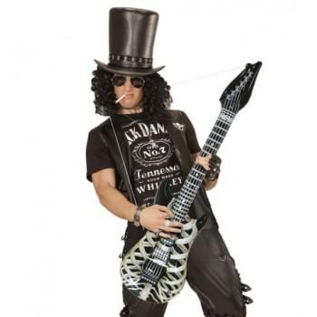 Guitarra Inflable Esqueleto