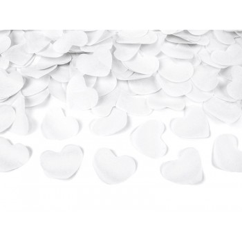 Cañon Corazones Blancos 40Cm