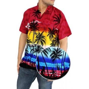 Camisa Hawaiana colores surtidos
