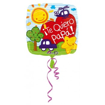 "Globo 18"" Te Quiero Papa"