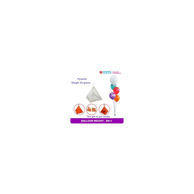 Peso Globo Piramide Huec.Trans