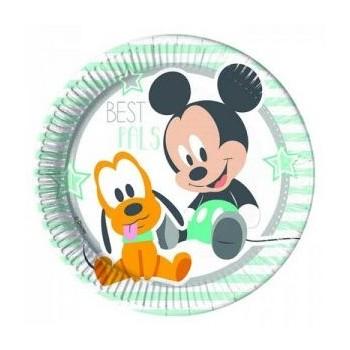 P/8 Plato 23Cm Mickey Baby