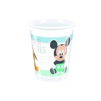 P/8 Vasos Mickey Baby