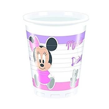 P/8 Vasos Minnie Baby