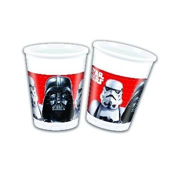 P/8 Vasos Star Wars B.F.