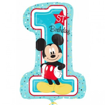 Globo Happy Bday 1St Mickey