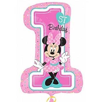 Globo Happy Bday 1St Minnie