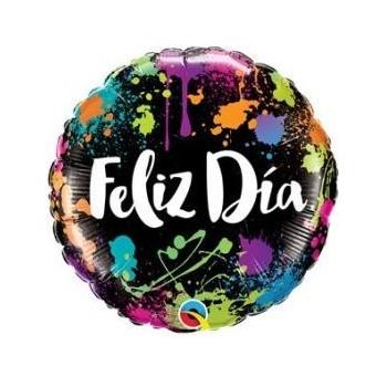 """Globo 18"""" Feliz Dia"""