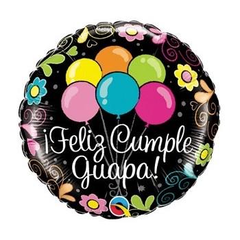 "Globo 18""Feliz Cumple Guapa!"