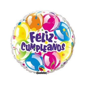 """Globo 18""""Feliz Cumpleaños"""