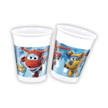 P/8 Vaso Pl.Super Wings