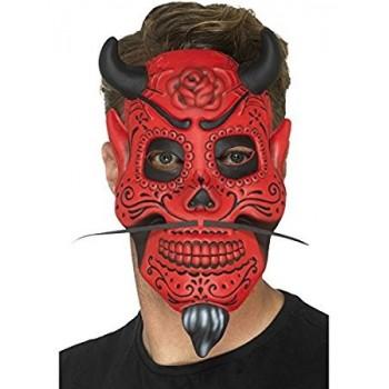 Mascara Demonio Roja Dia Muert