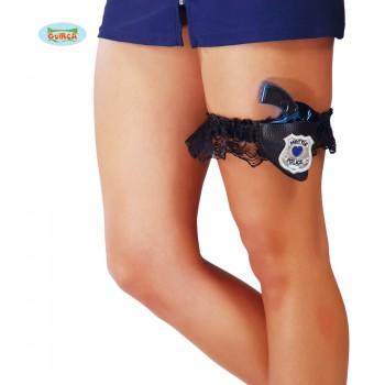 Liga C/Pistola Policia