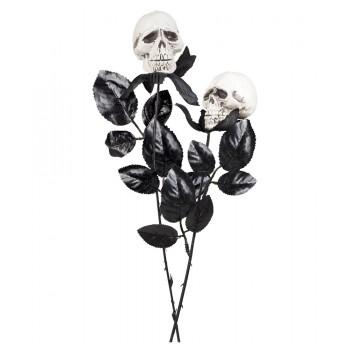 Flor Negra C/Calavera