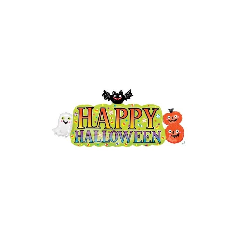 Globo Cartel Happy Halloween