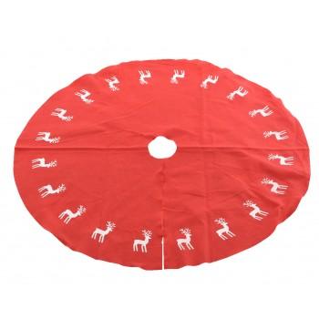 Pie De Arbol Rojo C/Renos 100C