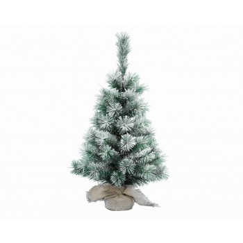 MINI ARBOL NEVADO YUTE 20CM