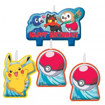P/4 Velas Pokemon