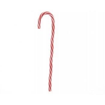 Baston Navidad Plas.Bl/Rj 30Cm