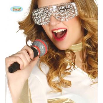 Microfono Plastico