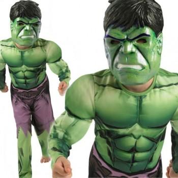 Disf.Hulk Deluxe 7-8 Años