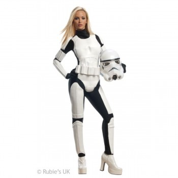 Disf.Stormtrooper Female T-M