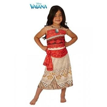 Disf.Vaiana Deluxe 5-6 Años